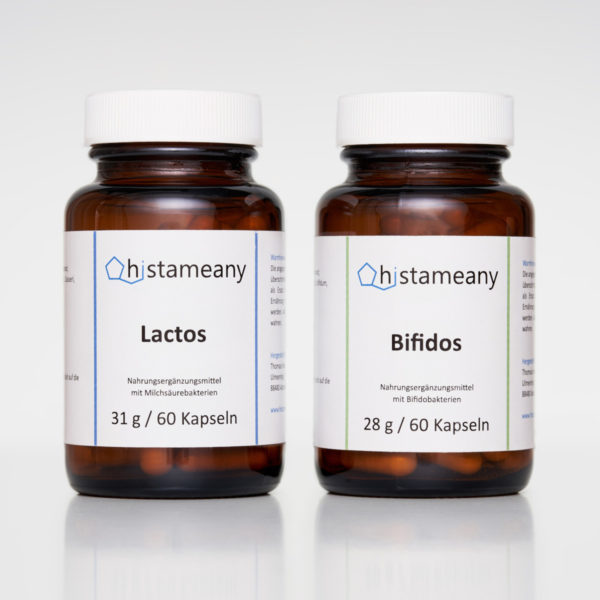 Bifidobakterien Milchsäurebakterien Bifidos Lactos Histameany